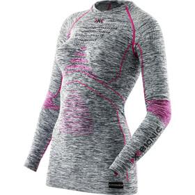 X-Bionic Accumulator Evo Melange UW - Ropa interior Mujer - gris/rosa